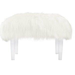 white chair for vanity. Scarlett Vanity Stool Modern White Accent Stools  AllModern