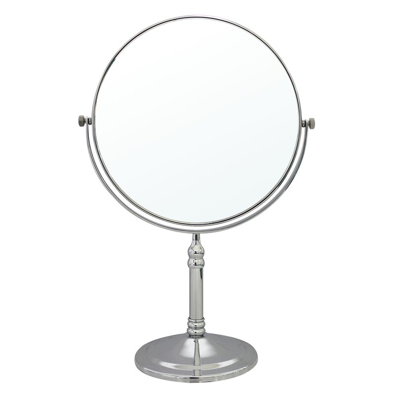 2 Sided Tabletop Vanity Mirror