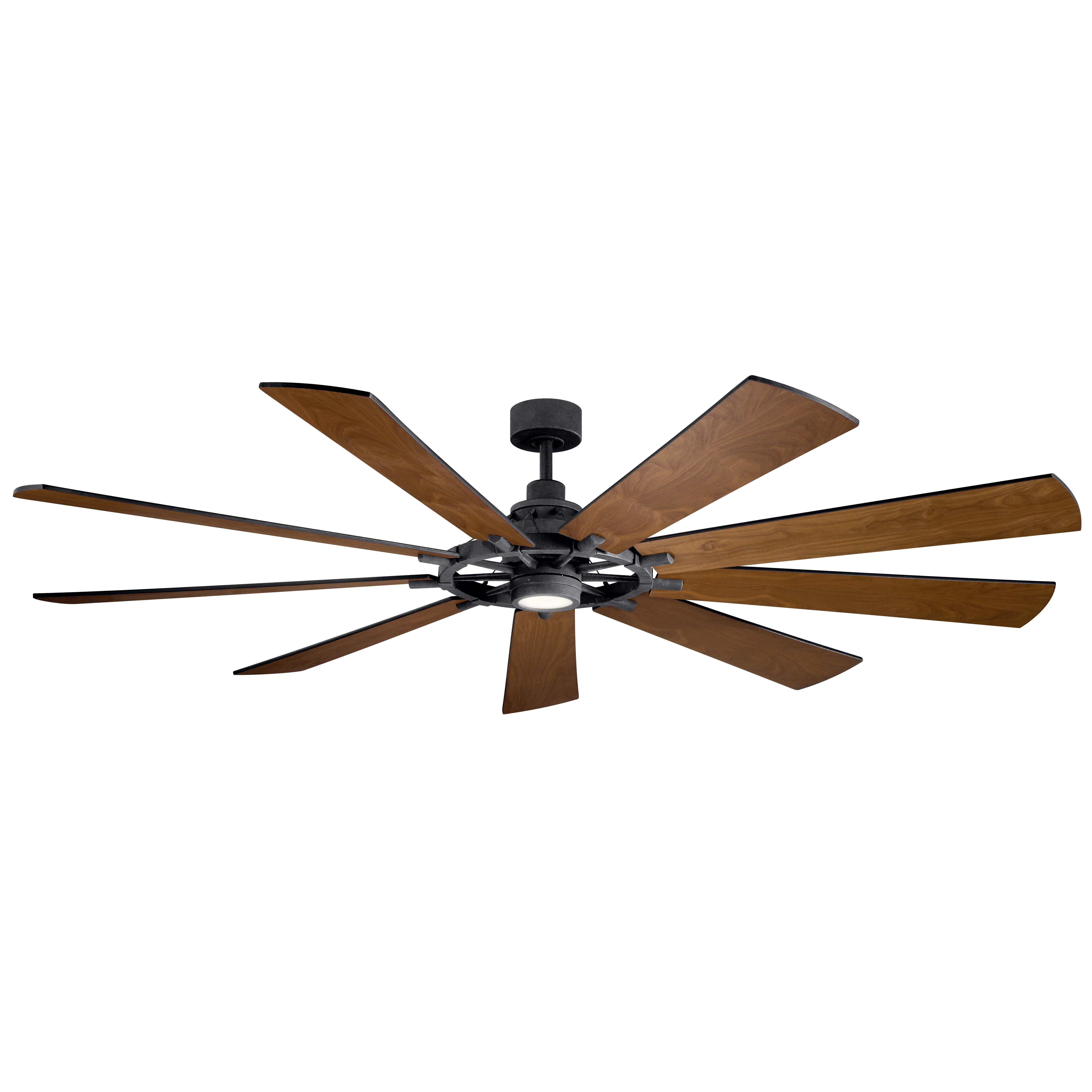 Greyleigh 85 Sophronia 9 Blade Led Windmill Ceiling Fan With Wall Control And Light Kit Included Reviews Wayfair