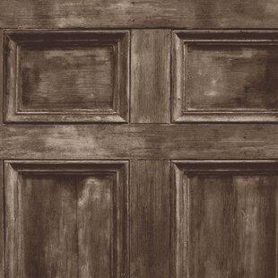 Wood Panel Effect Wallpaper Wayfaircouk