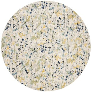 Gore Ivory Area Rug by Ebern Designs