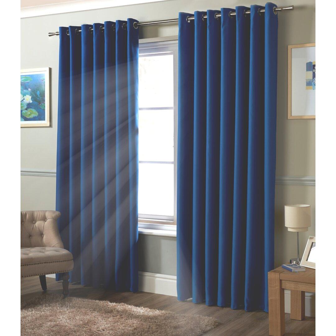 Strome Eyelet Room Darkening Thermal Curtains