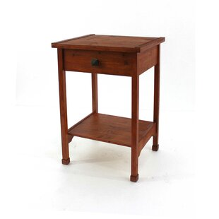 Scaggs Wooden End Table