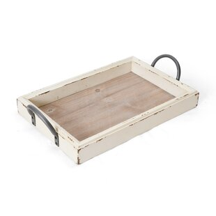 Pei 18 Edge Wood Accent Tray