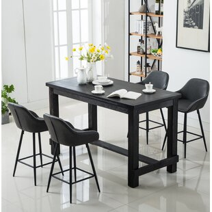 Shoemaker 5 Piece Counter Height Dining Set