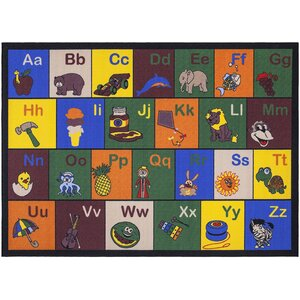 Babies Children's Educational Area Rug
