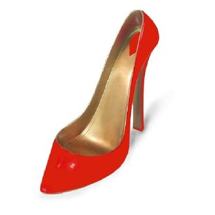 Gracey Stiletto Shoe 1 Bottle Tabletop Wi..