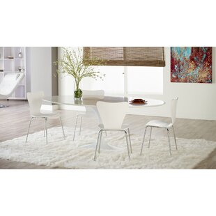 Joyce 5 Piece Dining Set by Wade Logan Best Design