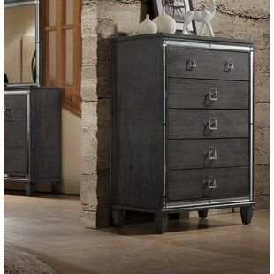 House of Hampton Ezio 5 Drawer Chest