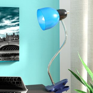 Review Jowers Adjustable Clip 17 Desk Lamp by Zipcode Design