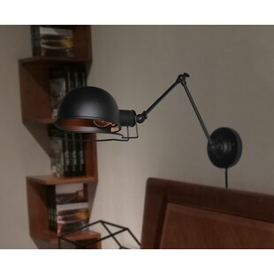 Williston Forge Murchison 1-Light Wall Swing Arm Lamp
