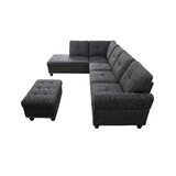 Krisdapor 97 Sectional with Ottoman by Winston Porter