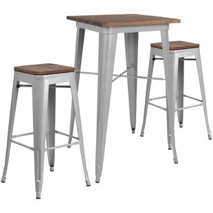 Malcom 3 Piece Pub Table Set