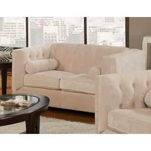 Low priced Kulick Loveseat by House of Hampton Reviews (2019) & Buyer's Guide