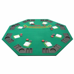 Bi-Fold Poker Table Cover by Trademark Global