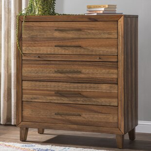 Bungalow Rose Lavada 5 Drawer Chest