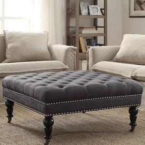 ottoman for living room.  Ottomans Poufs Wayfair