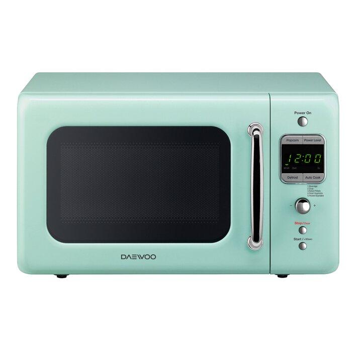 Retro 17 6 0 7 Cu Ft Countertop Microwave