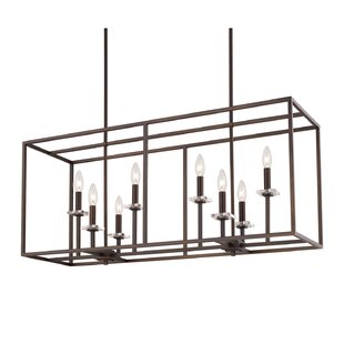 Latitude Run Malcolm 8-Light Kitchen Island Pendant