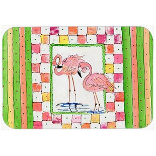 Flamingo Glass Cutting Board