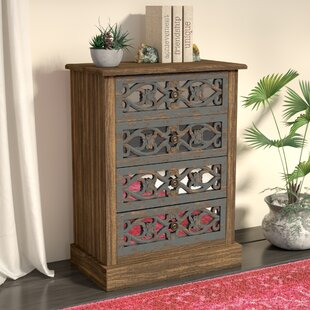 Germano 4 Drawer Accent chest by World Menagerie