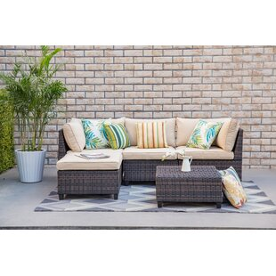 Petty 5 Piece Sectional Set with Cushions by Bay Isle Home