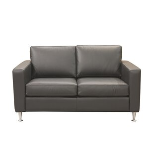 Mei Leather Loveseat