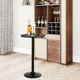 Allenna Counter Height Pedestal Dining Table by Ebern Designs