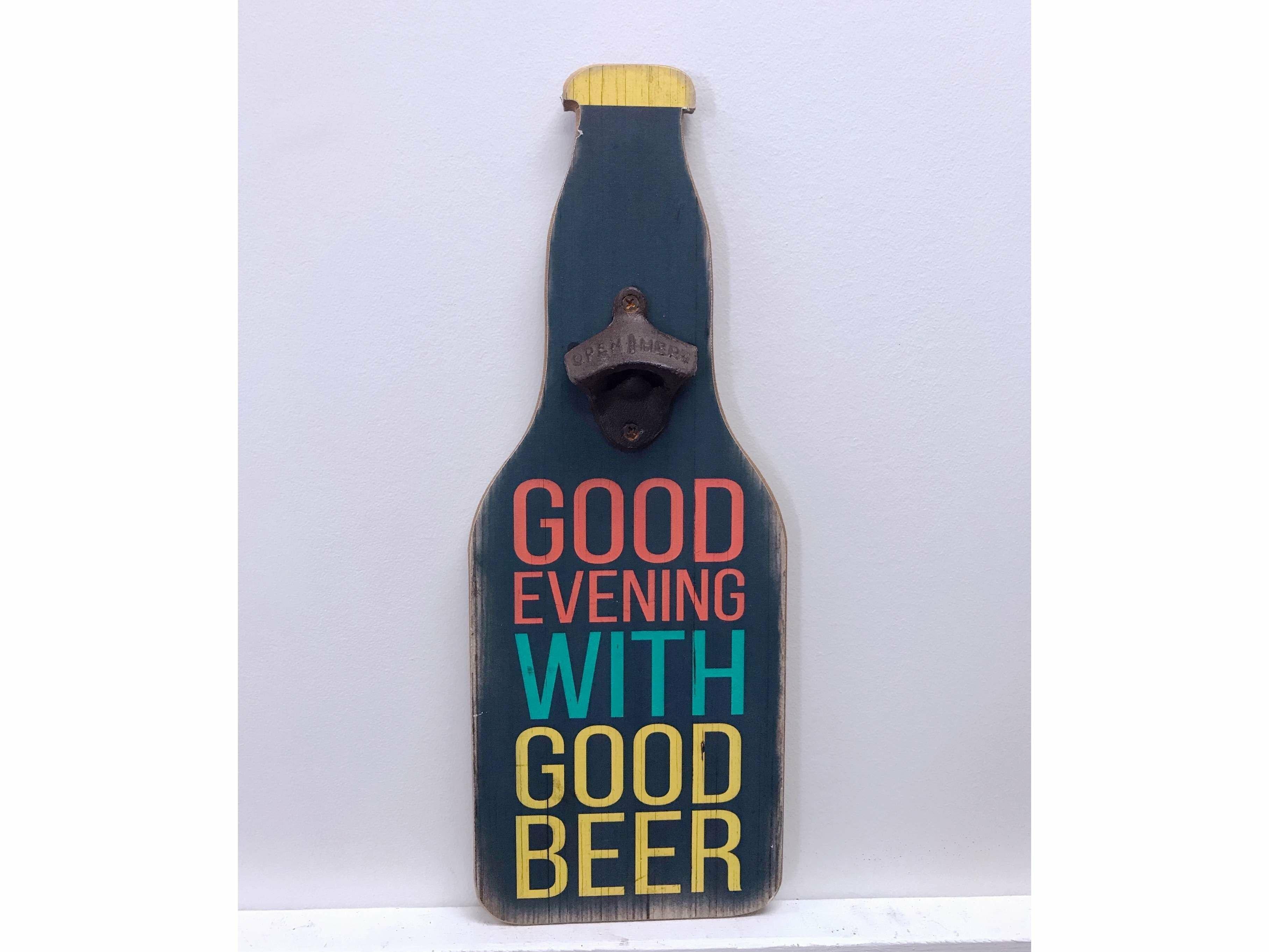 Winston Porter Dewayne Evening With Beer Vintage Bottle Opener Wayfair
