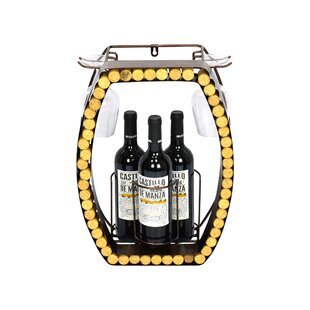 Dasher 3 Bottle Wall Mounted Wine Rack By Williston Forge