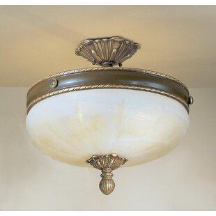Alexandria II 4-Light Semi-Flush Mount by Classic Lighting