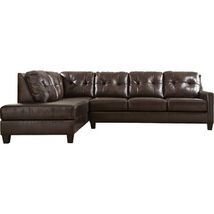 Stouffer Leather Sofa By Red Barrel Studio