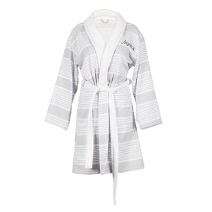 Personalized 100% Cotton Turkish Terry Cloth Bathrobe