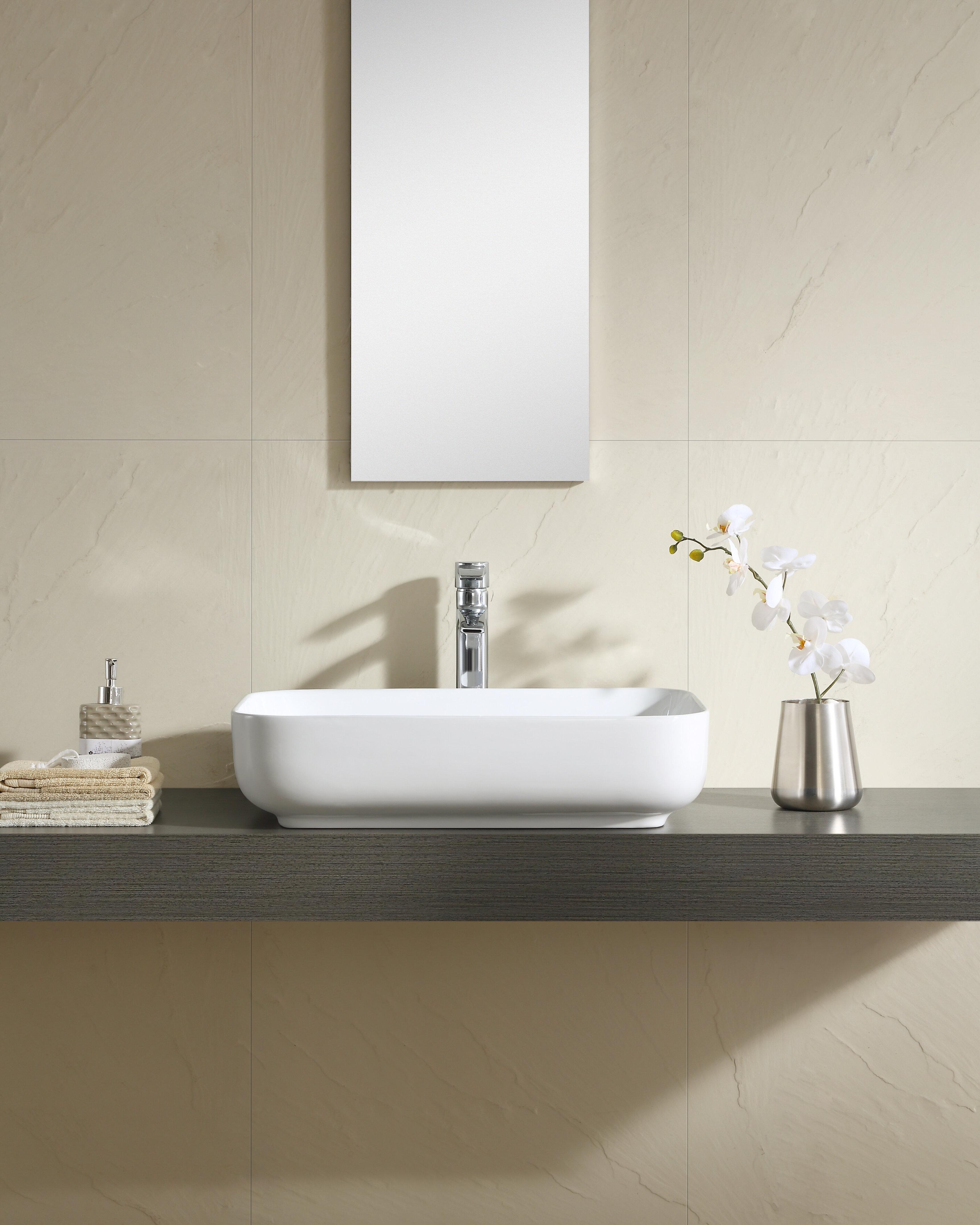 Rectangular Wall Mounted Faucet