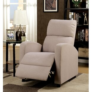 Top Chalfant Push Back Chair Manual Recliner by Red Barrel Studio