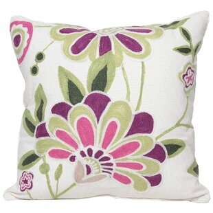 Flora Cotton Throw Pillow