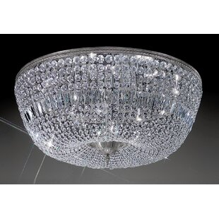 House of Hampton Genevieve 12-Light Semi-Flush Mount