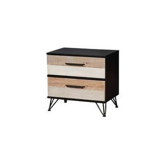 Landreneau 2 Drawer Nightstand by Union Rustic