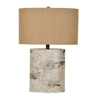 Cambray Birch Wood 24.5 Table Lamp