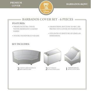 TK Classics Barbados 6 Piece Cover Set