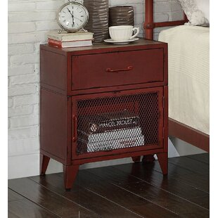Price comparison Jacinta 1 Drawer Nightstand By Williston Forge