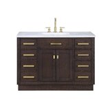 Chestnut 48 Single Bathroom Vanity Set by Ivy Bronx