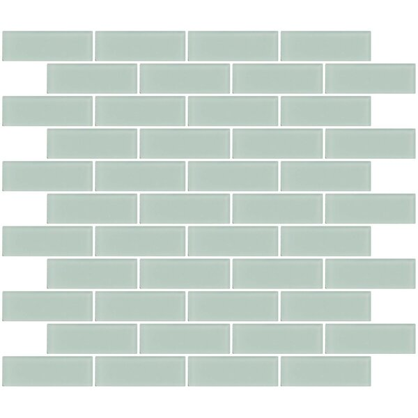 Susanjablon Architect S Frosted 1 X 3 Gl Subway Tile In Pale Aqua Blue Wayfair