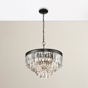 Willa Arlo Interiors Springfield 5-Light Crystal Chandelier