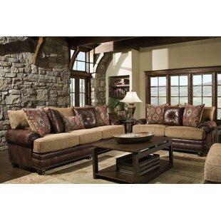 Loon Peak Poythress 2 Piece Living Room Set