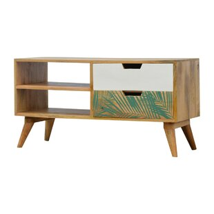 Auchincloss Solid Wood TV Stand For TVs Up To 32