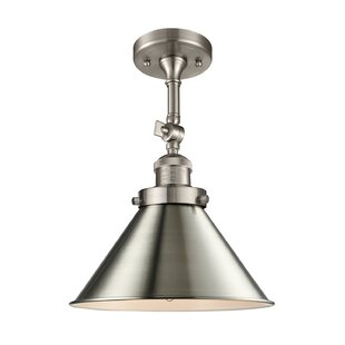 Stonecrest 1-Light Semi Flush Mount by Laurel Foundry Modern Farmhouse
