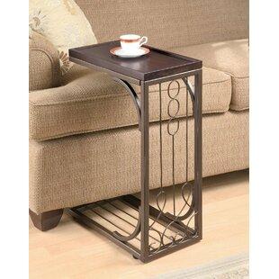 Glazer End Table by Fleur De Lis Living