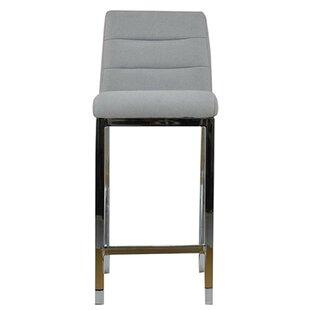 Mercury Row Grey Seat Bar Stools