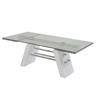 Evolution Extendable Dining Table by Casabianca Furniture